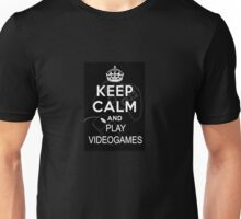 Keep calm and videogames! Unisex T-Shirt