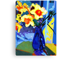 Daffodil Moment Canvas Print