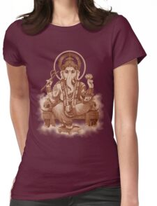 Ganesh the Remover of all obstacles Womens Fitted T-Shirt