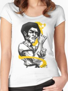 Jim the Dragon Women's Fitted Scoop T-Shirt