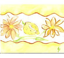 mums and lemons - kitchen rooms  Photographic Print