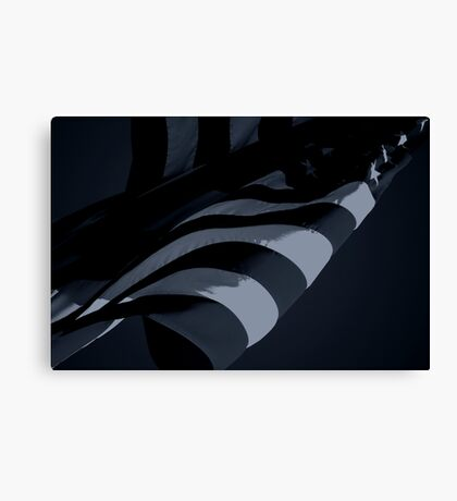 Black Flag II (Spock) Canvas Print
