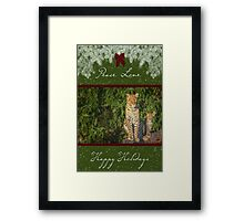 Just like Mom for the Holidays Framed Print