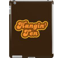 Hangin' Ten - Retro 70s - Logo iPad Case/Skin