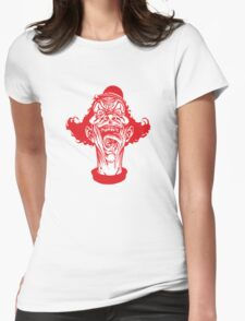 McDemon Clown Womens Fitted T-Shirt