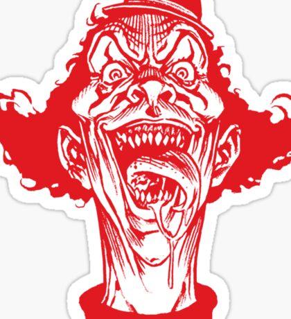 McDemon Clown Sticker