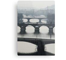 Bridges Metal Print