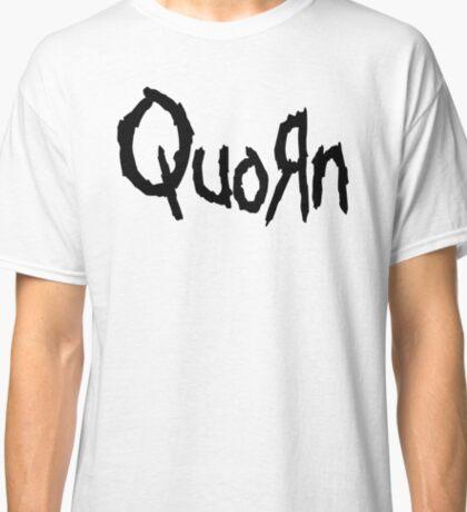 Quorn Nu Metal Vegan Vegetarian Design Korn Classic T-Shirt