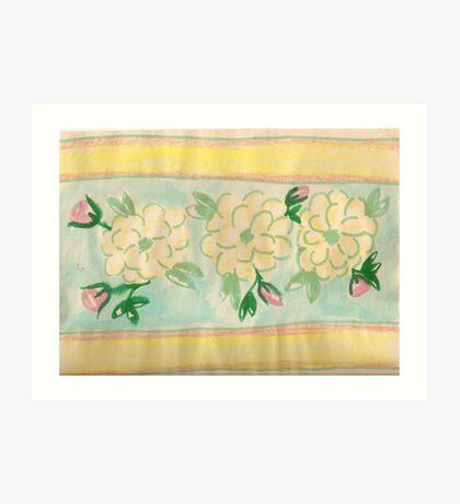 pattern of beauty - girls rooms  Art Print