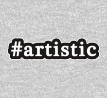 Artistic - Hashtag - Black & White Kids Clothes