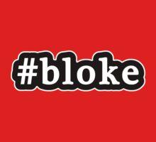 Bloke - Hashtag - Black & White One Piece - Long Sleeve