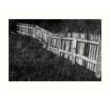 fence Art Print