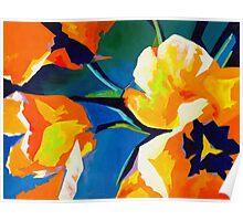 Bursting Colors  Poster