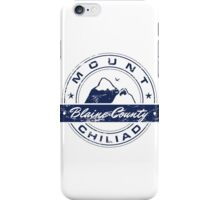 Mt Chiliad GTA_Blue iPhone Case/Skin