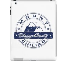 Mt Chiliad GTA_Blue iPad Case/Skin