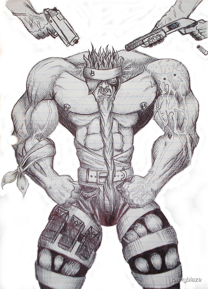 gangsta  by jonnyblaze