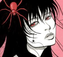 Lady Spider Sticker