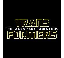 The Allspark Awakens Photographic Print