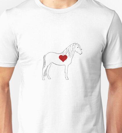Small Horse, Big Heart Unisex T-Shirt