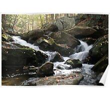 Smoky Mountain Waterfall II Poster