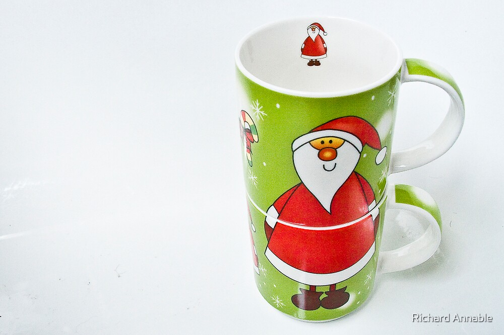 May your Christmas cup runeth over #2 by Richard Annable