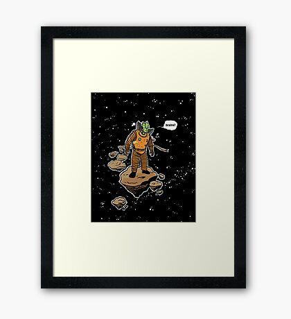 Astrozombie Framed Print