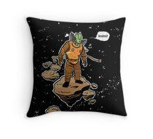 Astrozombie Throw Pillow