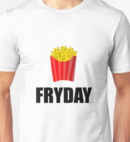 Fryday Friday French Fries Unisex T-Shirt