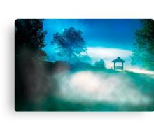 Greet The Day - North Georgia Landscape at Dawn Canvas Print