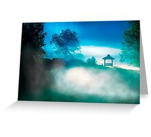 Greet The Day - North Georgia Landscape at Dawn Greeting Card