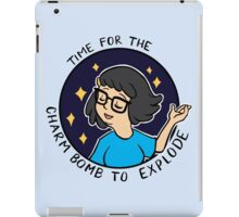 Time for the Charm Bomb to explode iPad Case/Skin