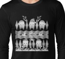 Ugly Goth Christmas Sweater Long Sleeve T-Shirt