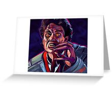 Welcome To Fright Night Greeting Card