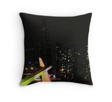 Light and Sculpture Throw Pillow
