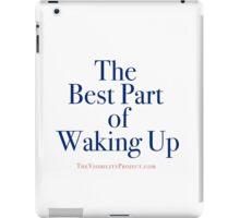 White Tears for Breakfast iPad Case/Skin