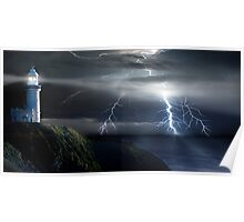 Lighting Byron Bay Poster