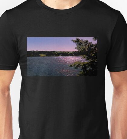 Mystic Sunset Twlight Unisex T-Shirt