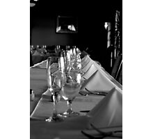 Dinner is served Photographic Print