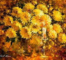 Candle Of Reason — Buy Now Link - www.etsy.com/listing/213005513 by Leonid  Afremov