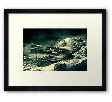 ...elsewhere Framed Print