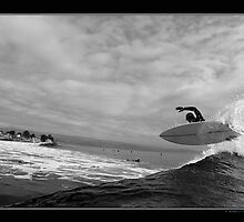 Unknown Surfer by Nick Borelli