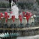 Fountain in Tivoli Gardens by Heather Thorsen