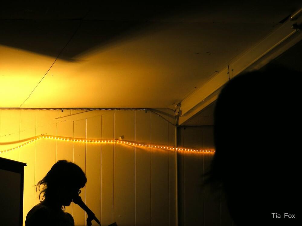 reading lights by Tia  Fox