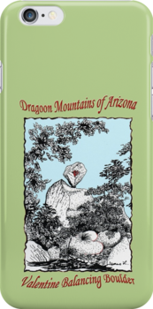 Valentine Balancing Rock in the Arizona Dragoon Mountains by James Lewis Hamilton