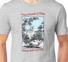 Valentine Balancing Rock in the Arizona Dragoon Mountains Unisex T-Shirt