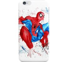 Spider-Man Watercolor Splash iPhone Case/Skin