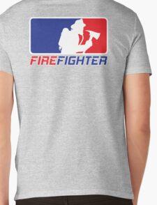 Professional Firefighting League Apparel Mens V-Neck T-Shirt