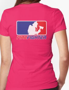 Professional Firefighting League Apparel Womens Fitted T-Shirt