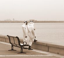 ChitChat - Kuwaiti men in traditional clothes by NicoleBPhotos
