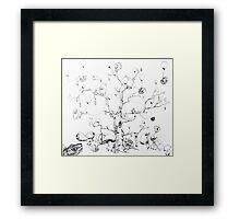 Balloon Tree Framed Print